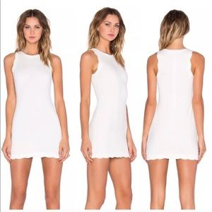 For Love And Lemons Dresses - For Love & Lemons Rosarito White Scallop small